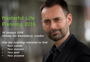 Masterful Life Planning 2016