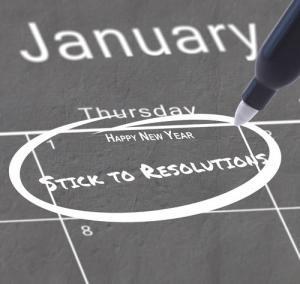 New Year's Resolutions? Here is how to stick to them!